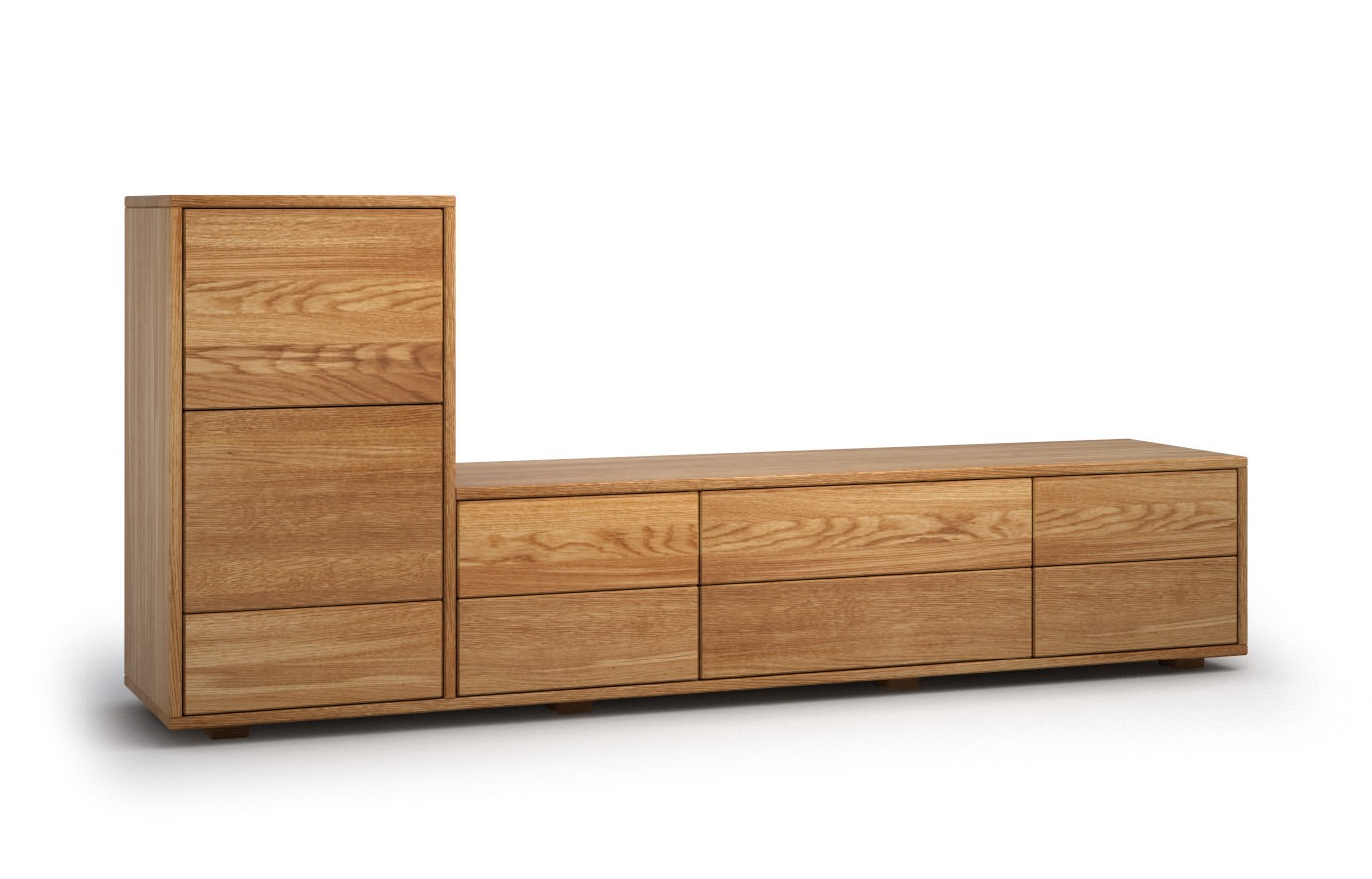 munita in eiche rustikal sideboard. Black Bedroom Furniture Sets. Home Design Ideas